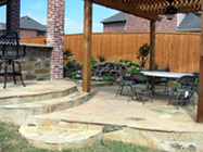 Custom Flagstone Patio